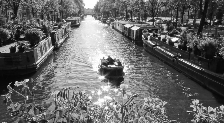 The Prinsengracht, one of the 165 canals in our beautiful city